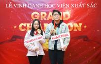 GRAND CHAMPION – Vinh danh học viên xuất sắc tháng 9