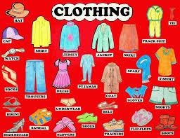 50 từ vựng tiếng Anh về quần áo