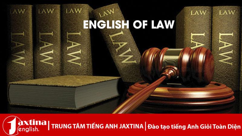 tiếng anh chuyên ngành luật