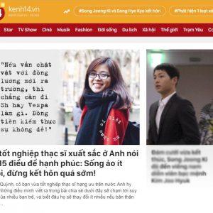 Chia Sẻ của Co-founder Jaxtina gây bão trên trang tin lớn nhất dành cho giới trẻ- Kenh 14.vn