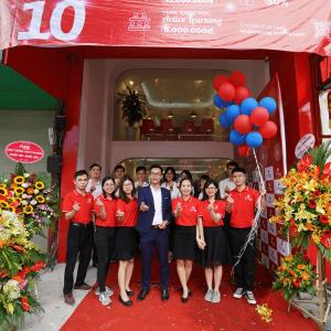 Tưng bừng Khai trương cơ sở thứ 10 – Jaxtina Nguyễn Lương Bằng
