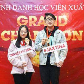 GRAND CHAMPION - Vinh danh học viên xuất sắc tháng 9