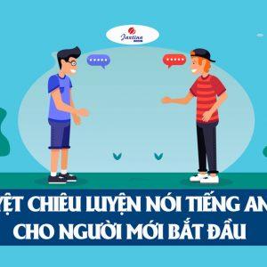 Cách luyện nói tiếng Anh cho người mới bắt đầu