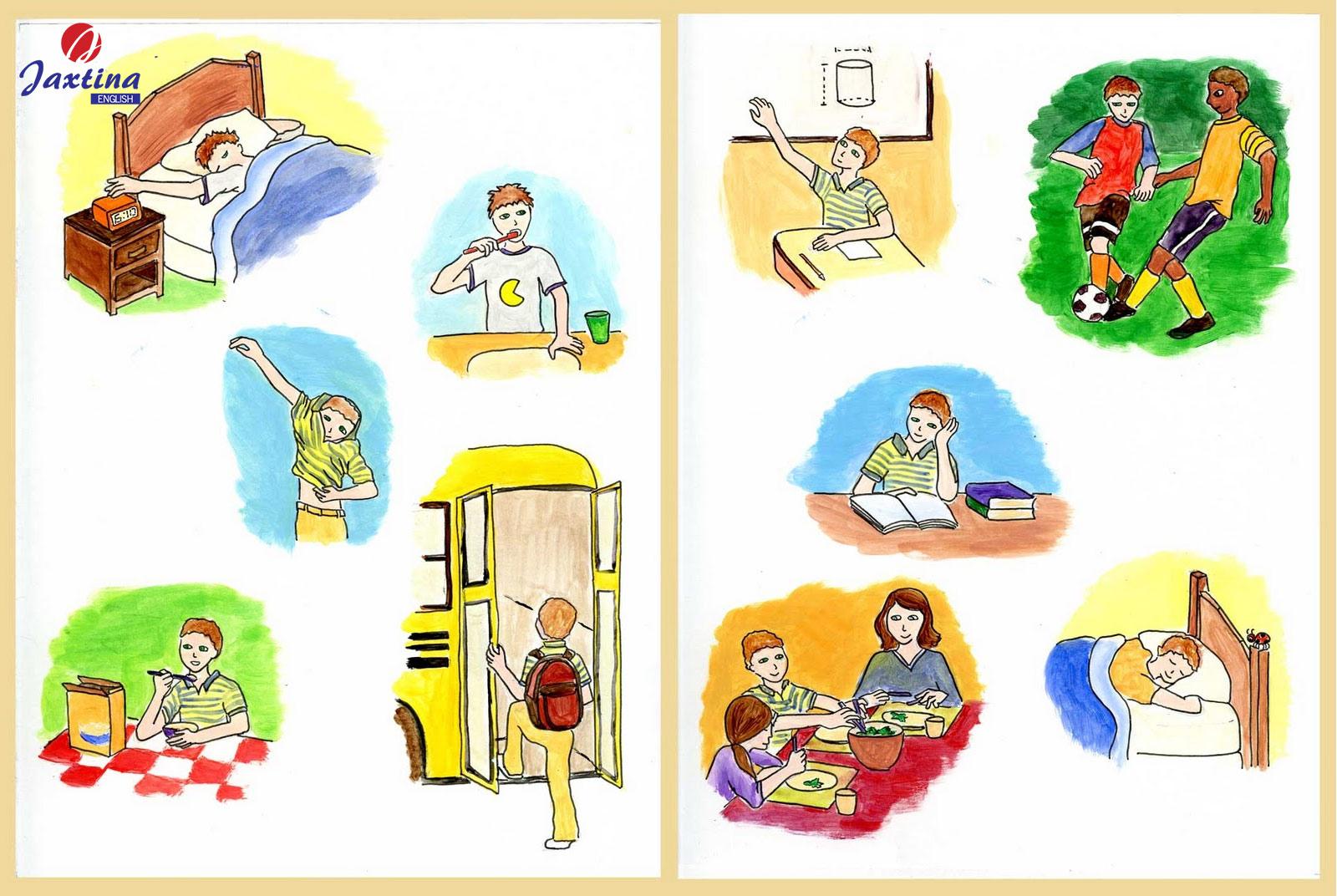 Các hoạt động hàng ngày (Daily Activities) trong tiếng Anh