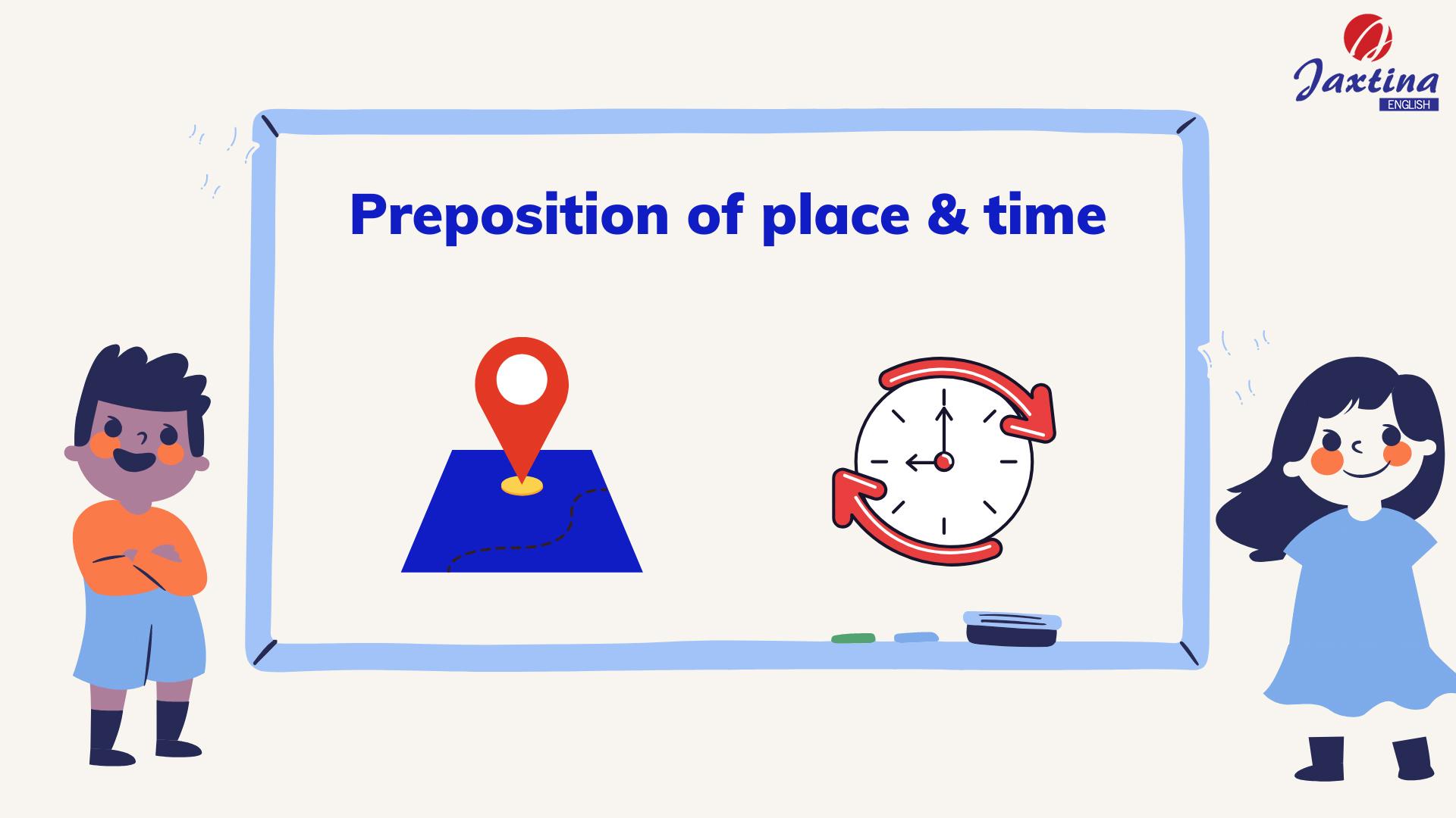 Cách sử dụng giới từ chỉ nơi chốn và giới từ chỉ thời gian (Preposition of place & time)
