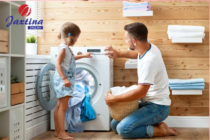 Những cụm từ tiếng Anh về việc nhà (Household Chores)