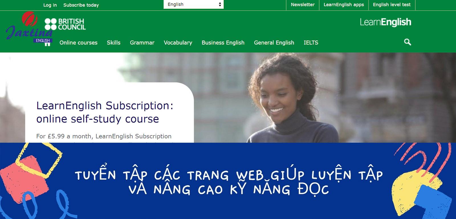 Tuyển Tập Các Trang Web Giúp Luyện Tập Và Nâng Cao Kỹ Năng Đọc