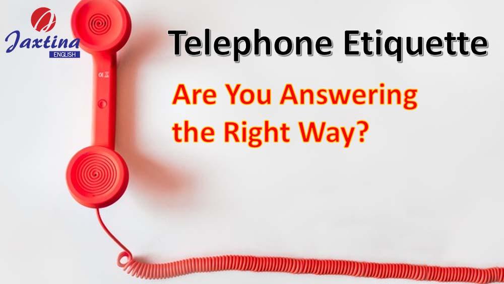 các phép lịch sự khi nói chuyện qua điện thoại