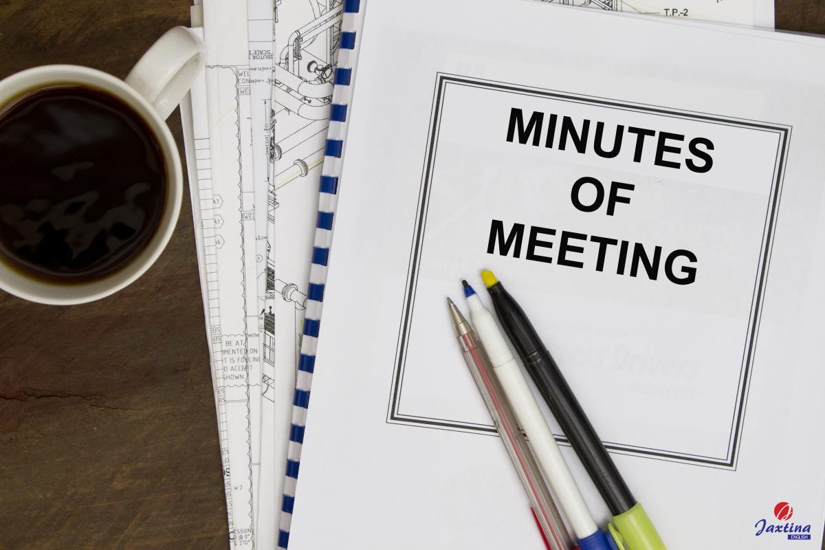 Viết Meeting Minutes cần lưu ý những gì?