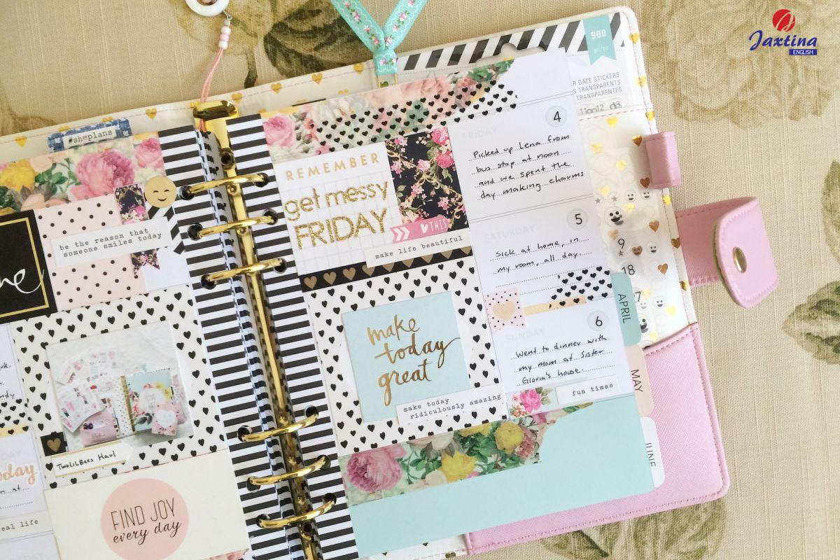Cách viết nhật ký (Diary) bằng Tiếng Anh