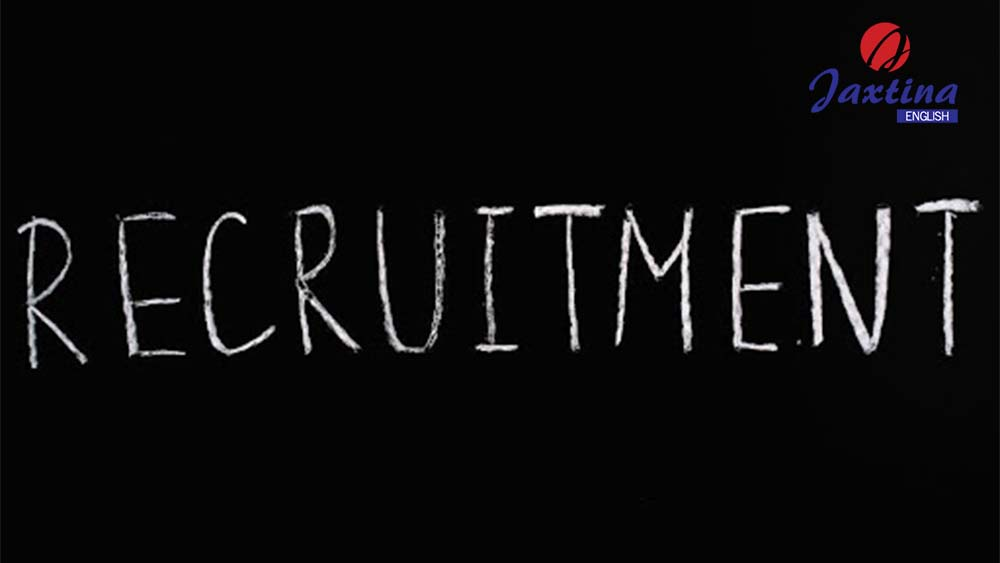 làm bài kiểm tra từ vựng về chủ đề recruitment